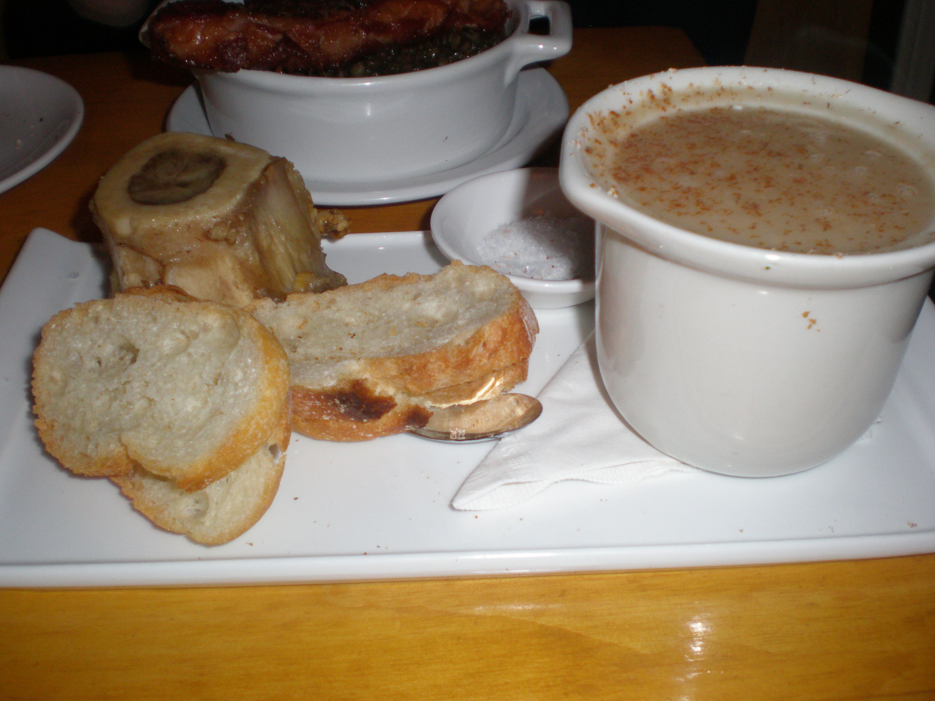 Bone Marrow and Cabbage Soup
