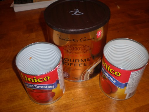 I hope these cans will prove useful as cans for growing vegetables