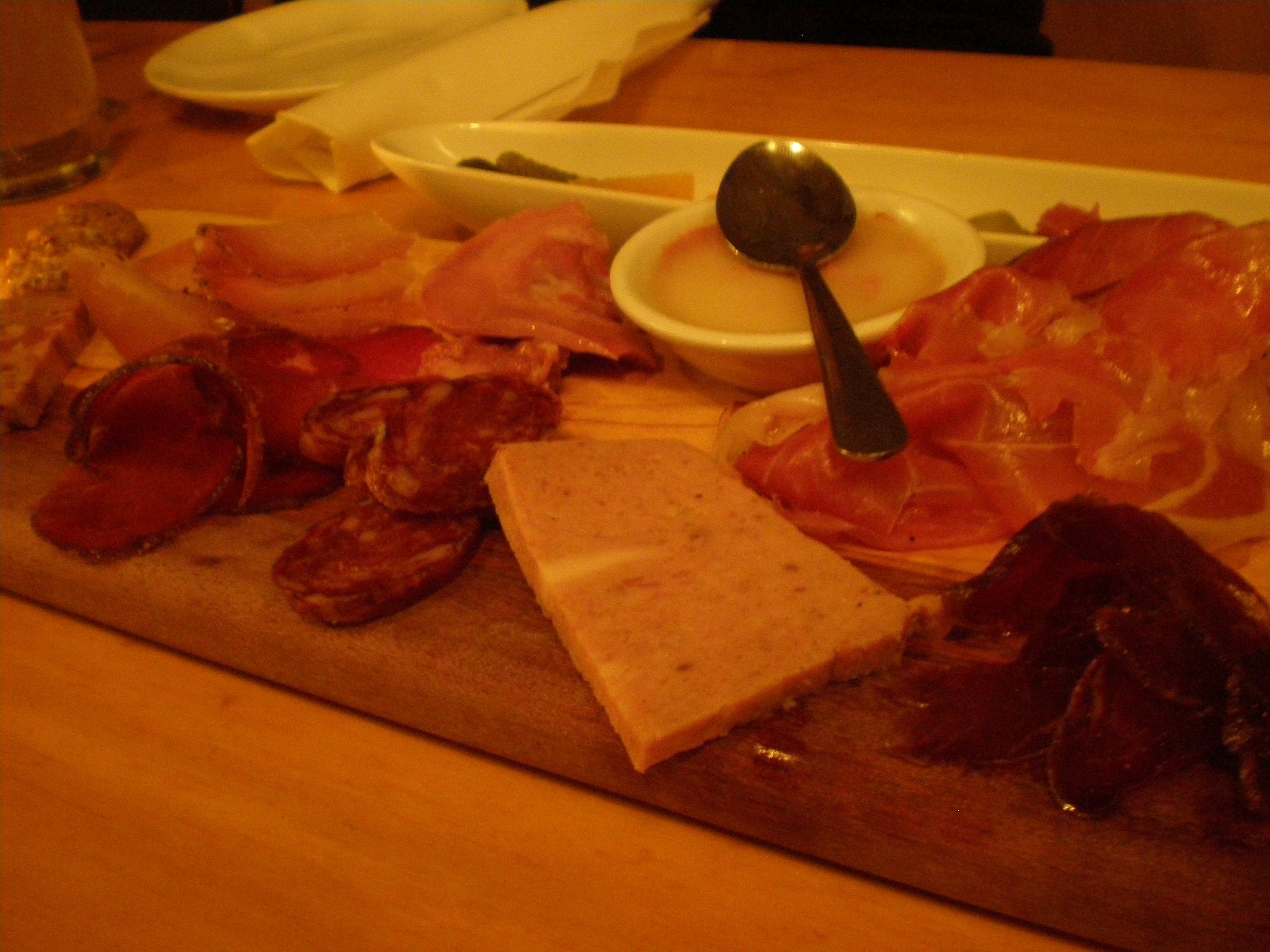 An extraordinary charcuterie board